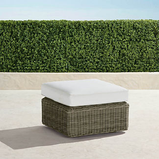 Vista Ottoman with Cushion, Special Order