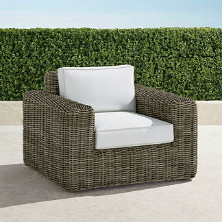 Vista Lounge Chair with Cushions, Special Order