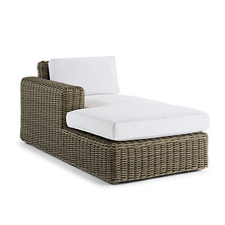 Vista Left-facing Chaise with Cushions, Special Order