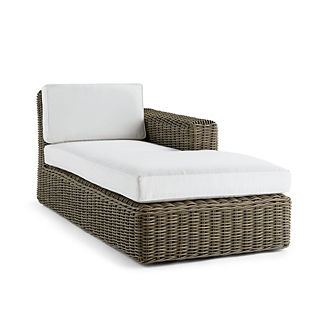 Vista Right-facing Chaise with Cushions, Special Order
