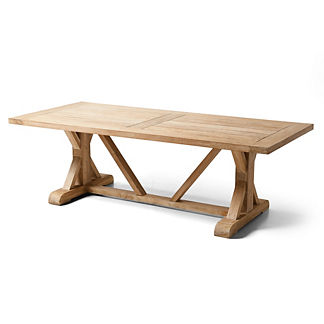 Vista Washed Teak Farmhouse Table