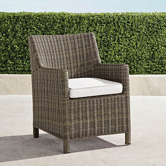 Vista Dining Chairs with Cushions, Set of Two