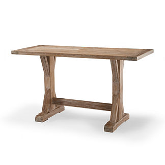 Vista Washed Teak Bar Table