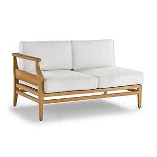 Tambora Left-facing Sofa with Cushions