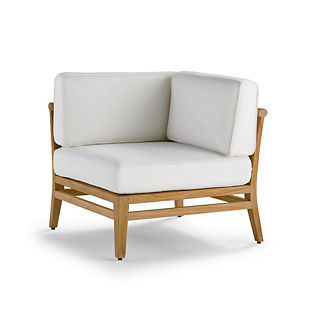 Tambora Corner Chair with Cushions