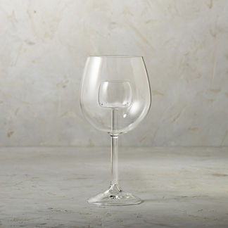 Aerating Wine Glasses, Set of Two