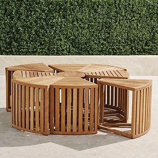 Pasadena Teak Coffee Table