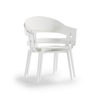 Preston Stacking Chairs, Set of Two