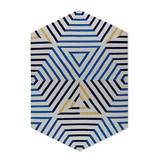 Sonia Indoor/Outdoor Hexagon Rug
