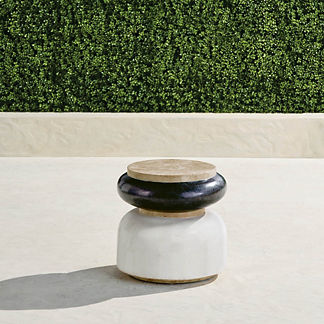 Masson Stone Accent Stool
