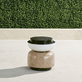 Wyatt Stone Accent Stool