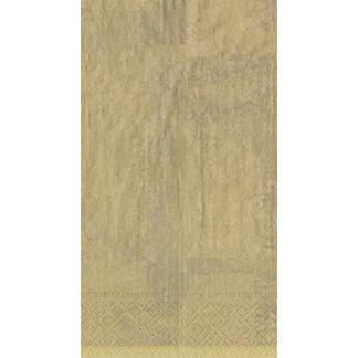 Caspari Antique Gold Leaf Guest Towels, Set of 30
