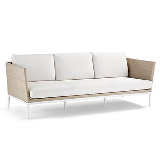Palazzo Shell Sofa with Cushions, Special Order