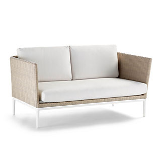 Palazzo Shell Loveseat with Cushions