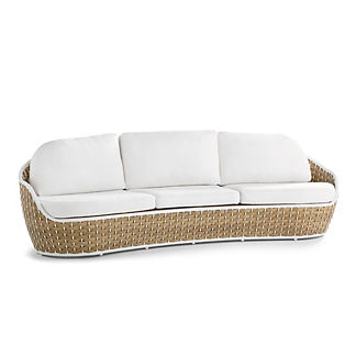 Ravello Curved Sofa with Cushions
