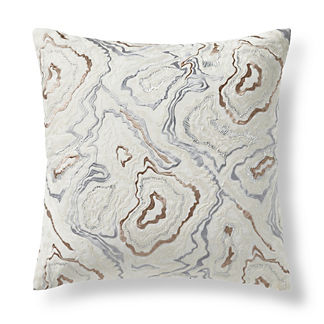 Ethereal Lurex Agate Decorative Pillow
