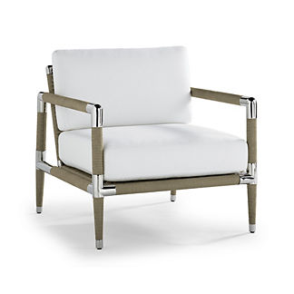 Terra Mar Lounge Chair with Cushions