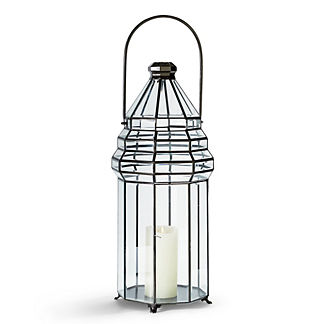 Barrett Beveled Glass Lantern by Martyn Lawrence Bullard