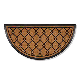 Elmwood Half-round Door Mat