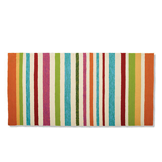 Summer Stripes Door Mat