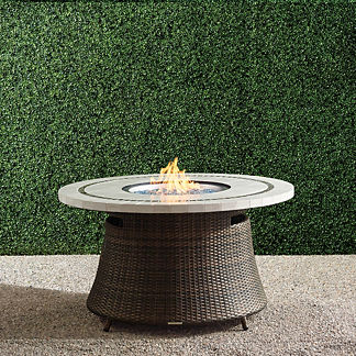 Pasadena Stone Top Fire Table
