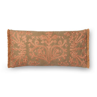 Nabila Fringe Decorative Lumbar Pillow