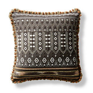 Maarit Beaded Decorative Pillow
