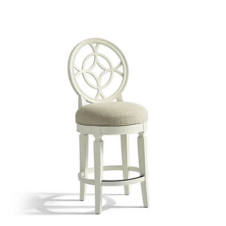 Lindfield Swivel Counter Stool (25-3/4