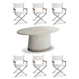 Sloane 7-pc. Dining Set by Martyn Lawrence Bullard
