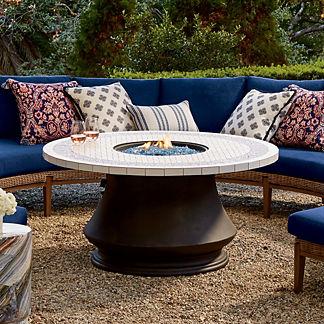 Designer Custom Gas Fire Table