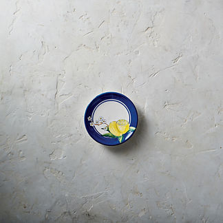 Italian Soiree Appetizer Plates, Set of Four