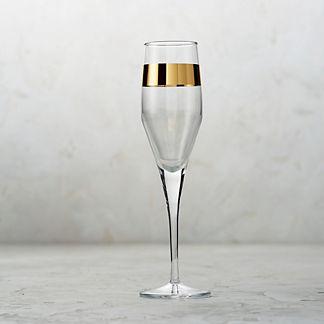 Arte Italica Semplice Champagne Flutes, Set of Four