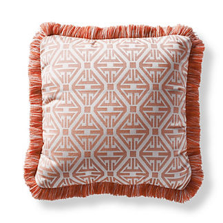 Sync Up Peony Square Pillow