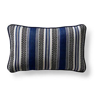 Adelaide Bay Sapphire Indoor/Outdoor Lumbar Pillow