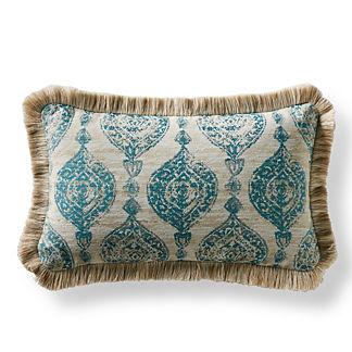 Cadiz Imprint Lumbar Indoor/Outdoor Pillow