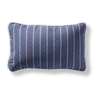 Metro Mosaic Nautical Indoor/Outdoor Lumbar Pillow