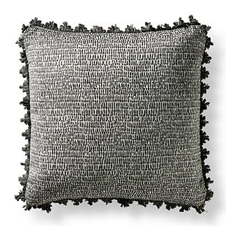Celesta Onyx Square Pillow