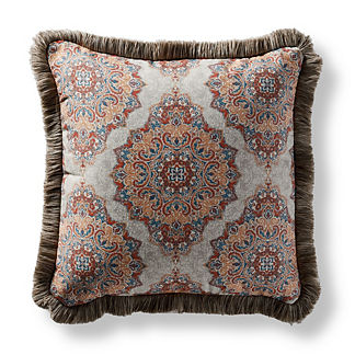 Fortunia Spice Square Pillow