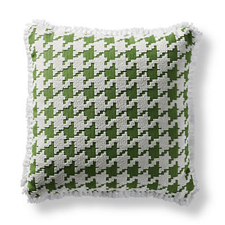 Houndstooth Fun Indoor/Outdoor Pillow