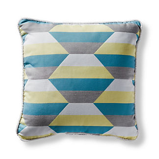 Shaded Prism Dove Square Pillow