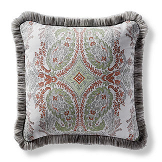 Tavaux Paisley Melon Square Pillow