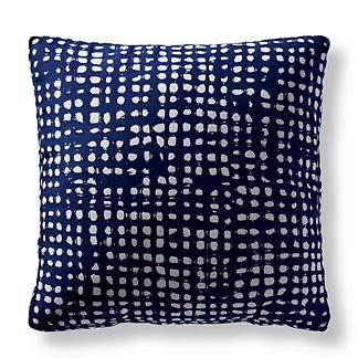 Dapple Indigo Outdoor Pillow by Martyn Lawrence Bullard