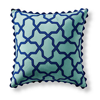 Puzzle Pieces Aruba Outdoor Pillow