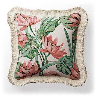 Paseo Floral Indoor/Outdoor Pillow