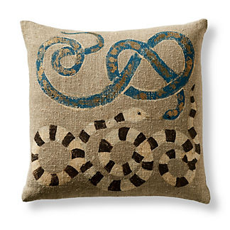 Serpente Decorative Outdoor Pillow