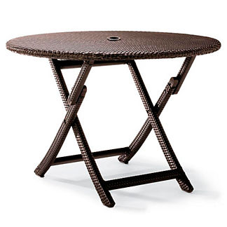 Cafe Round Folding Table Cover