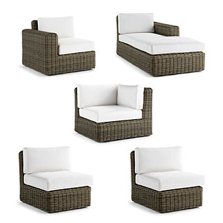 Vista 5-pc. Right-facing Chaise Set