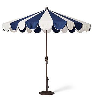 Gianna Designer Umbrella in Indigo