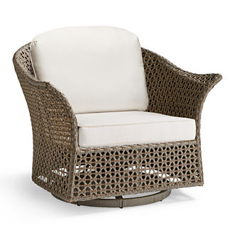 Maxwell Woven Swivel Chair Cushion