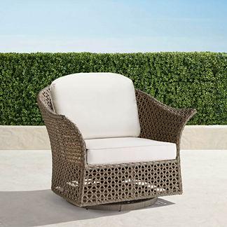 Maxwell Woven Swivel Chair Cushion, Special Order